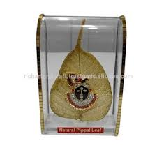 gift to india god shrinathji shreenathji krishna peepal pipal leaf for indian