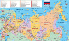 Russia Physical Map Physical Map by Streetmagicusa May 2008