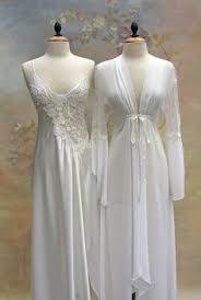 peignoir sets bridal silk bridal nightgown with open back and lace f12