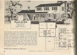 28 1950s floor plans ranch house plans 1950s 1960s ranch