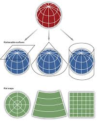 Map Scales Map Scale Coordinate Systems And Map Projections
