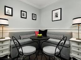Black Metal Dining Room Chairs Dining Room Comfortable Small Dining Space Furnitures Gray Smooth