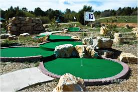 Backyard Golf Course backyards winsome open 82 backyard mini golf course design