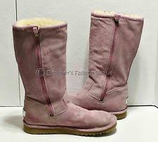 ugg womens boots with zipper ugg australia leather cuban heel boots for ebay