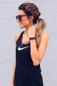 best 25 gym hairstyles ideas on pinterest braided ponytail