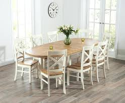 Painted Oak Dining Table And Chairs Solid Wood Dining Table And 6 Chairs Debenhams Oak And Painted