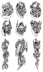 download tato batik skull tattoo free download format coreldraw belajar coreldraw