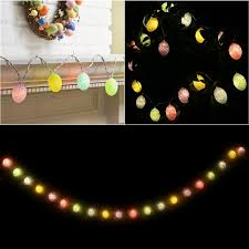 battery powered outdoor led string lights 2m easter egg lights string 20 light battery powered indoor outdoor