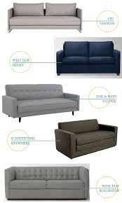 West Elm Sofa Bed by Sofa Bed Oh I Design Studio