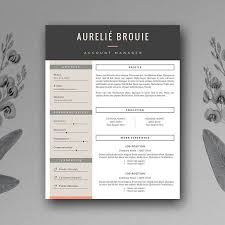 cv layout on word cv template for ms word by botanica paperie on creativemarket