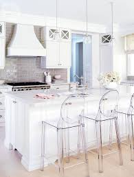 Modern Kitchen Counter Chairs Kitchen Backless Ghost Stools Airmaxtn