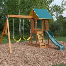 Backyard Swing Sets For Adults by Top 5 Wooden Swing Sets Under 500 Dollars