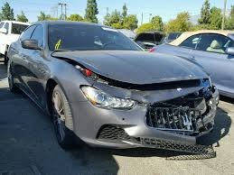 maserati v10 salvage 2017 maserati ghibli sedan for sale salvage title