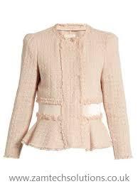 light pink blazer womens 20084097001 light pink cropped tweed jacket womens cotton jackets