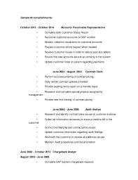 stunning accounts receivable resume sample ideas simple resume