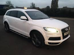 2011 audi suv audi q7 2011 3 0 tdi white panoramic roof s line 21 alloys review