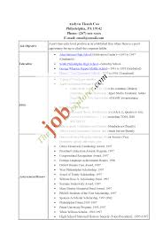 How To Make A Best Resume For Job by 99 How To Make A Resume For A Summer Job Resume Letter