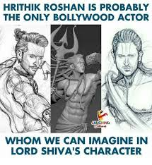 Shiva Meme - hrithik roshan is probably the only bollywood actor laughing whom we