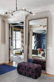 foyer mirrors 6 designer tricks to make your small apartment feel big tufted
