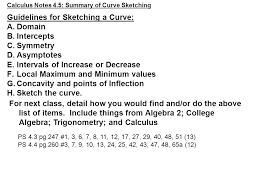 calculus notes 4 3 how derivatives affect the shape of a graph