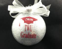 personalized graduation ornaments college ornaments etsy