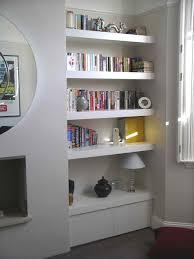alcove units twickenham fill awkward placed alcove w shelves or
