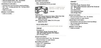 Accessible Reception Desk Governor U0027s 7350 Series Specifications