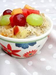 fruit salad oatmeal the oatmeal artist