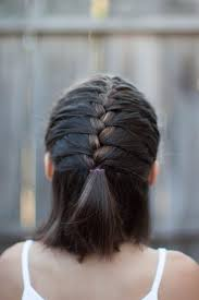 best 25 french braid short hair ideas on pinterest short