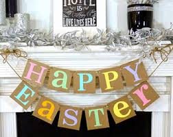 happy easter decorations some bunny is one banner easter 1st birthday banner easter