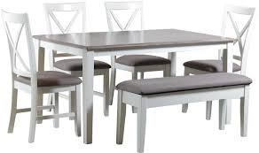 wood dining room tables and chairs laurel foundry modern farmhouse amaury 6 piece dining set