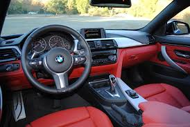 bmw red interior 2015 bmw 4 series gran coupe test drive autonation drive