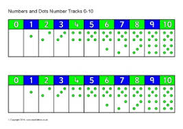 printable numbers lines printable number tracks for early years and key stage one sparklebox