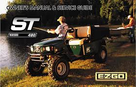 e z go offroad vehicle st 480 pdf user u0027s manual free download