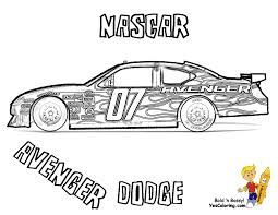 classy idea nascar coloring pages mega nascar sports car day kasey