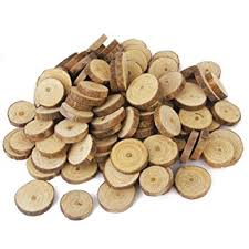 oulii wood slices tree log discs rustic wedding