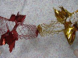 Real Christmas Trees Ipswich Foil Decorations Foil Garlands Christmas Decorations 1970s