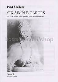 skellern six simple carols satb