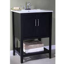 Single Sink Bathroom Vanity by Legion Furniture Ceramic Top 24 Inch Single Sink Bathroom Vanity