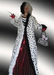 Cruella Vil Halloween Costumes Cruella Deville Costume Cruella Deville 101 Dalmatians