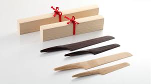 fusion japanese wooden knives hand made in kyoto