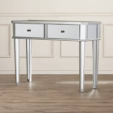 Mirrored Bedroom Furniture Sets Bedroom Furniture Sets Giselle Mirrored Console Table