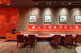 chinese restaurant millwork interiors