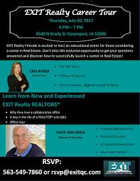 exit realty career tour july 20th