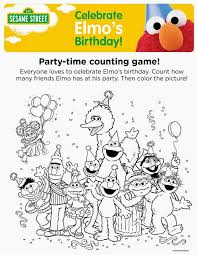 20 coloring pages sesame street images