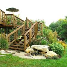 Small Backyard Landscape Designs Best 25 Landscaping Around Deck Ideas On Pinterest Landscaping
