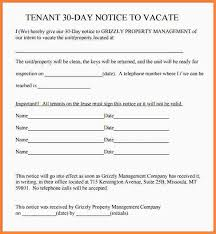 7 30 day eviction notice form template second notice letter