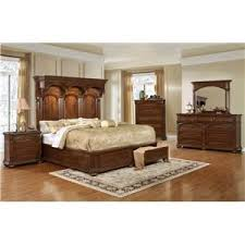 empire 4pc queen storage bedroom set rotmans bedroom groups