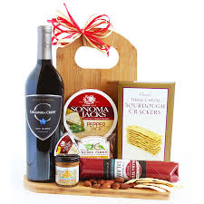 nyc gift baskets ten best wine gift baskets wine with cheese chocolate other snacks