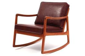 Mission Style Rocking Chair Leather And Wood Rocking Chair From Costa Rica Wooden Recliner